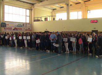 Rezultati Malih Olimpijskih igara Tuzlanskog kantona u odbojci za učenike srednjih škola, 2016/17. godine