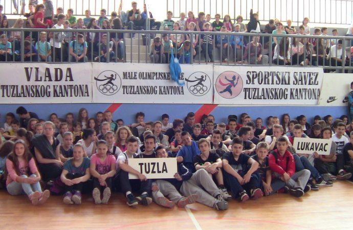 Rezultati Malih Olimpijskih igara Tuzlanskog kantona u odbojci za učenike osnovnih škola, 2015/16. godine