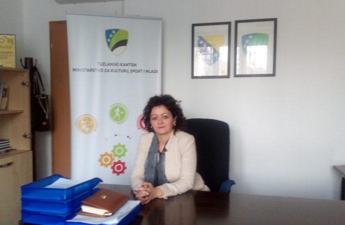 Slavena Vojinović ministrica za kulturu, sport i mlade TK: Sport ima višestruki značaj, kulturu trebamo njegovati u cilju očuvanja identiteta i tradicije (FOTO)
