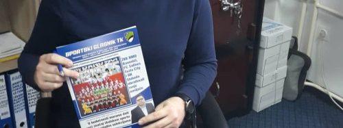 Posjete sportskim savezima gradova/općina Tuzlanskog kantona i distribucija Sportskog glasnika